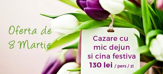 Oefrta 8 martie apuseni Pensiunea Claudia